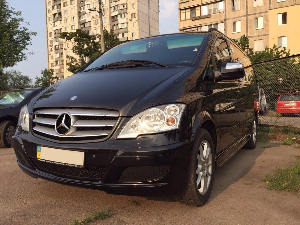 Rent minivan Kyiv. Аренда минивена мерседес виано