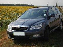 Прокат Skoda A5 Wagon с водителем