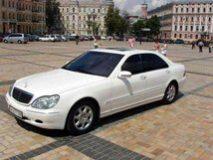 Прокат Mercedes W220 White с водителем