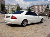 Авто бизнес класса Mercedes W220 White