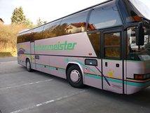 Авто класса автобусы Neoplan (белый)