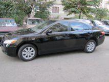 Аренда Toyota Camry (темная) с водителем