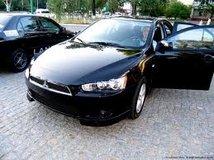 Прокат Mitsubishi Lancer (черный) с водителем