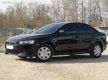 Mitsubishi Lancer (черный) авто стандартного класса
