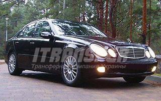 Аренда Mercedes E-class W211 с водителем