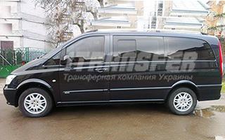 Mercedes Vito (черный) на прокат с водителем