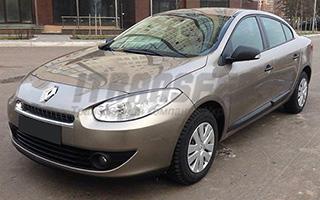 Renault Fluence на прокат с водителем