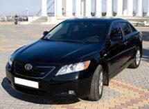 Toyota Camry напрокат авто с водителем