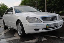 Аренда Mercedes S500 W220 с водителем