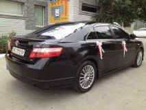 Аренда Toyota Camry (цвет черный) с водителем