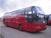 Аренда Neoplan (красный) с водителем