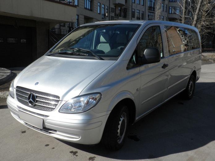 Mercedes Vito (Вито) аренда с водителем